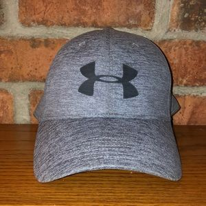 Under Armour Twist fitted baseball hat steel grey